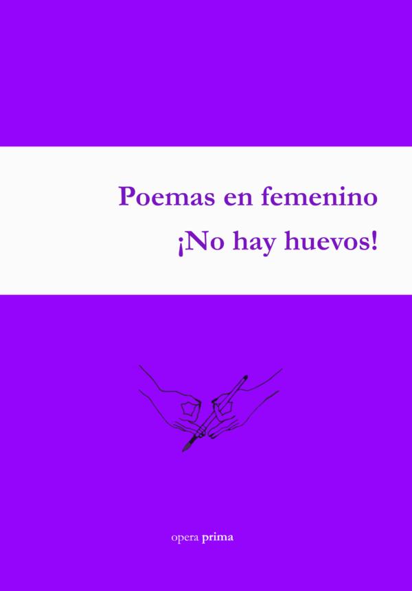 Poemas en femenino, portada
