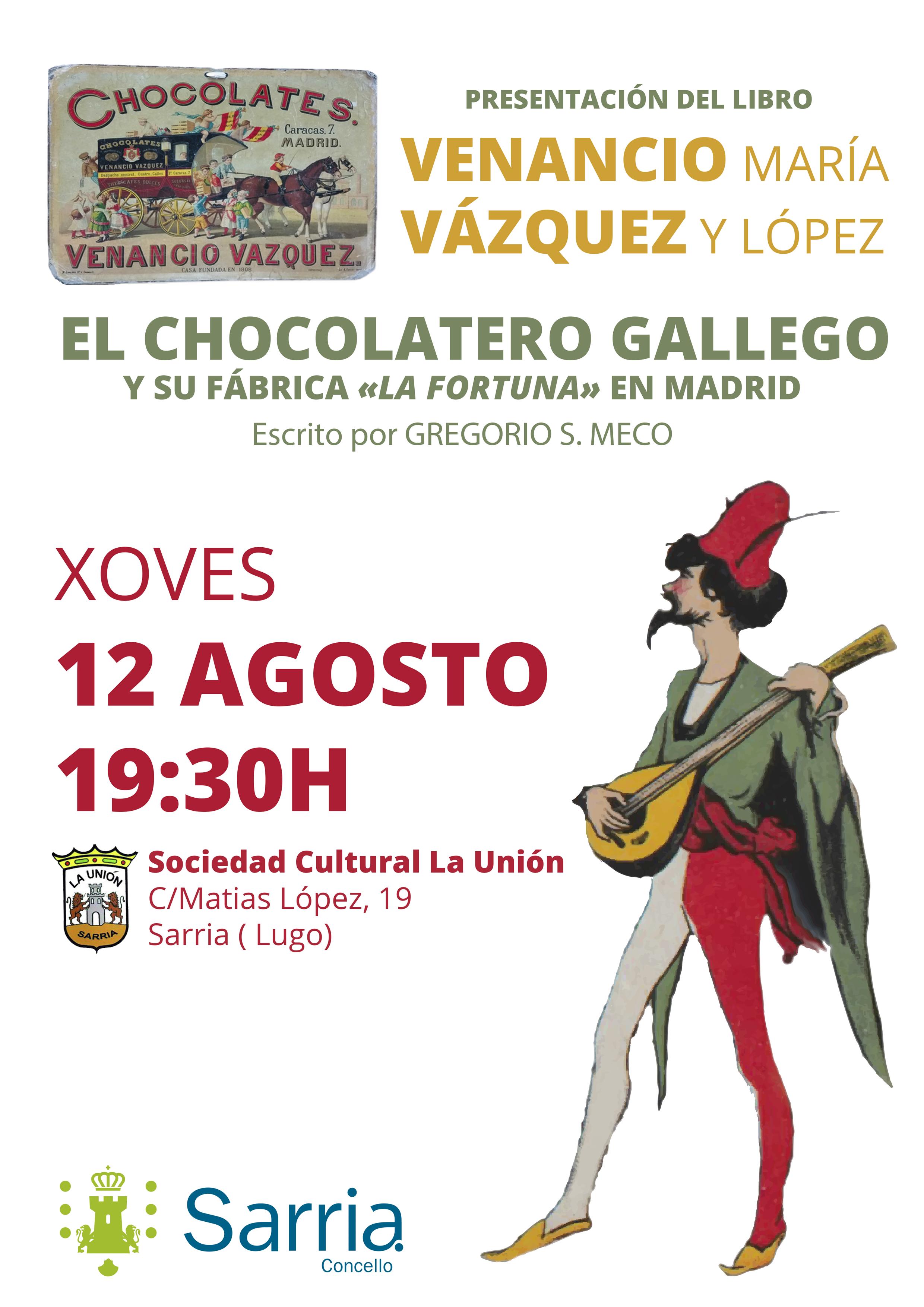 Presentación El chocolatero 12 de agosto